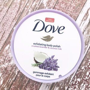 Dove Exfoliating Body Polish Crushed Lavender 10oz
